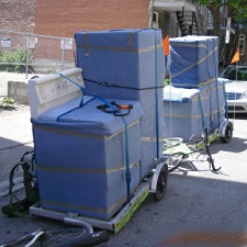 Raccourci : déménagement et transport à vélo